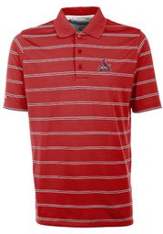 Antigua St Louis Cardinals Red Deluxe Short Sleeve Polo Shirt