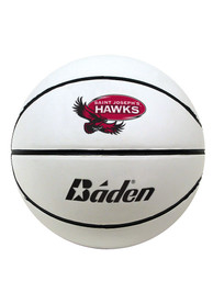 Saint Josephs Hawks Official Team Logo Autograph Basketball
