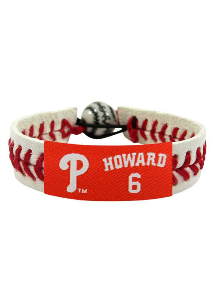 Philadelphia Phillies Ryan Howard Howard Mens Bracelet - Image 1