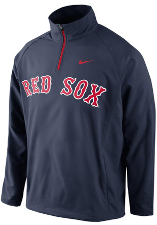 Nike Boston Red Sox Mens Navy Blue Hot Jacket Light Weight Jacket