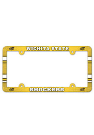 Wichita State Shockers Plastic Full Color License Frame