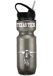 Texas Tech Red Raiders Grey Plastic Water Bottle