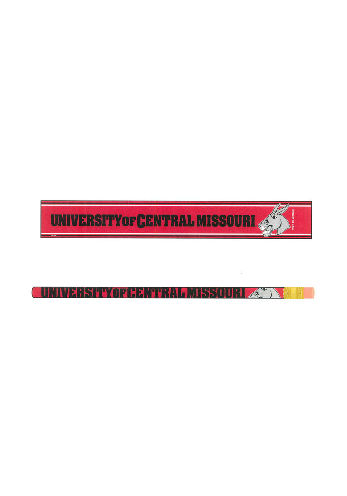 Central Missouri Mules 6 Pack Pencil - Image 1