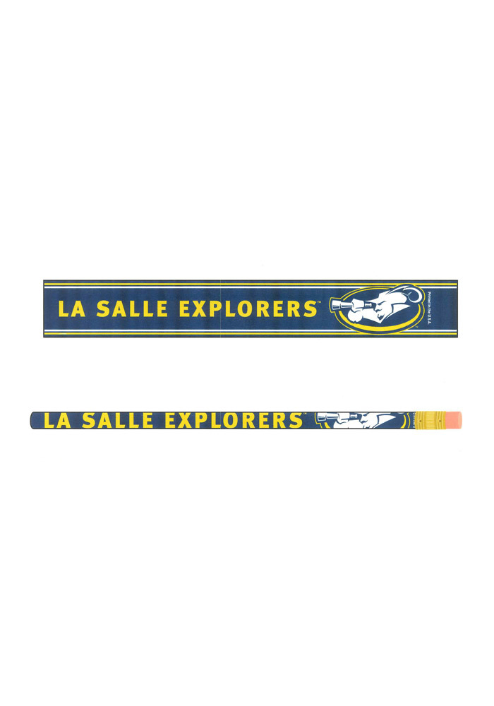 La Salle Explorers 6 Pack Pencil - Image 1