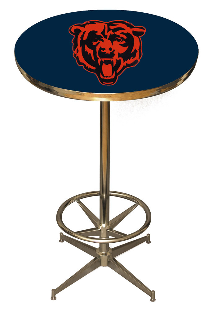 Chicago Bears Navy Pub Table - Image 1