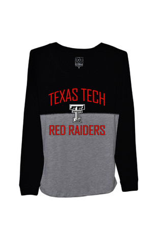 Texas Tech Womens Sideline Jersey Black LS Tee