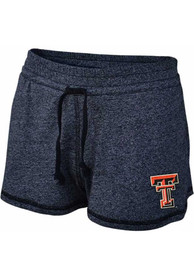 Texas Tech Red Raiders Womens Jewel Sparkle Shorts - Black
