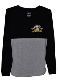 Northern Kentucky Norse Womens Sideline Jersey Black LS Tee