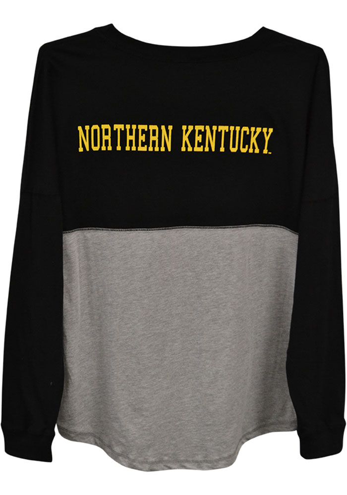 size 40 ac27c 60aaa Northern Kentucky Norse Womens Black Sideline Jersey LS Tee