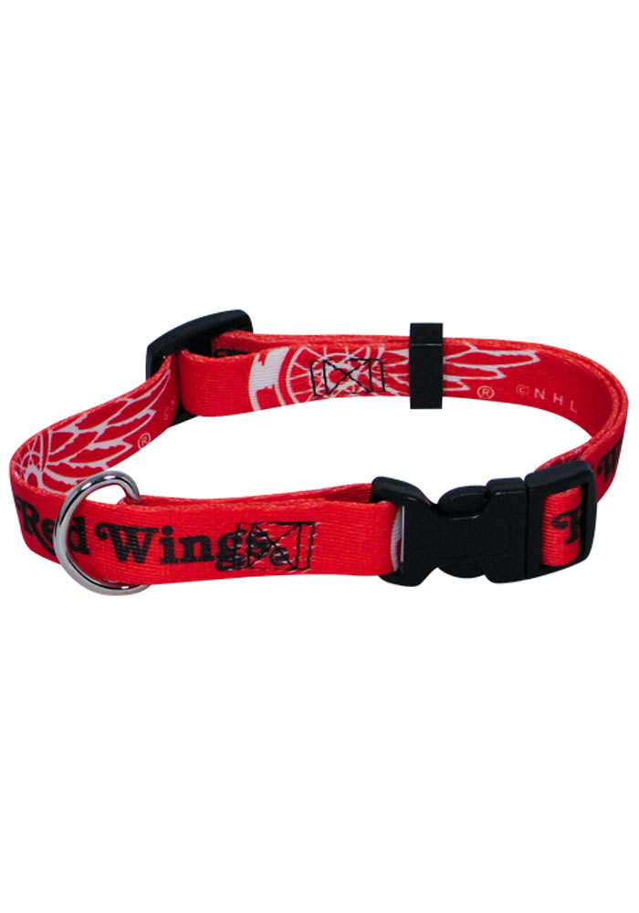 Detroit Red Wings Red Pet Collar - Image 1