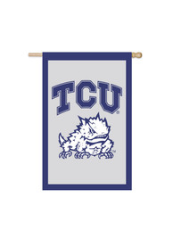 TCU Horned Frogs 28x44 Sleeve Banner