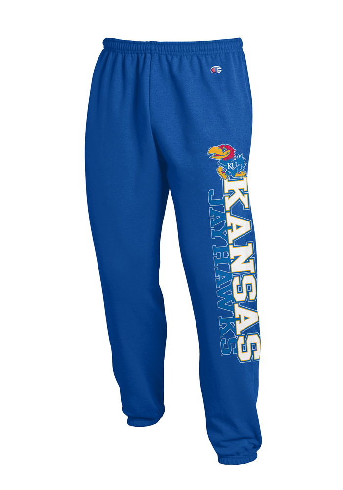 Kansas Jayhawks Champion Kansas Sweatpants - Blue