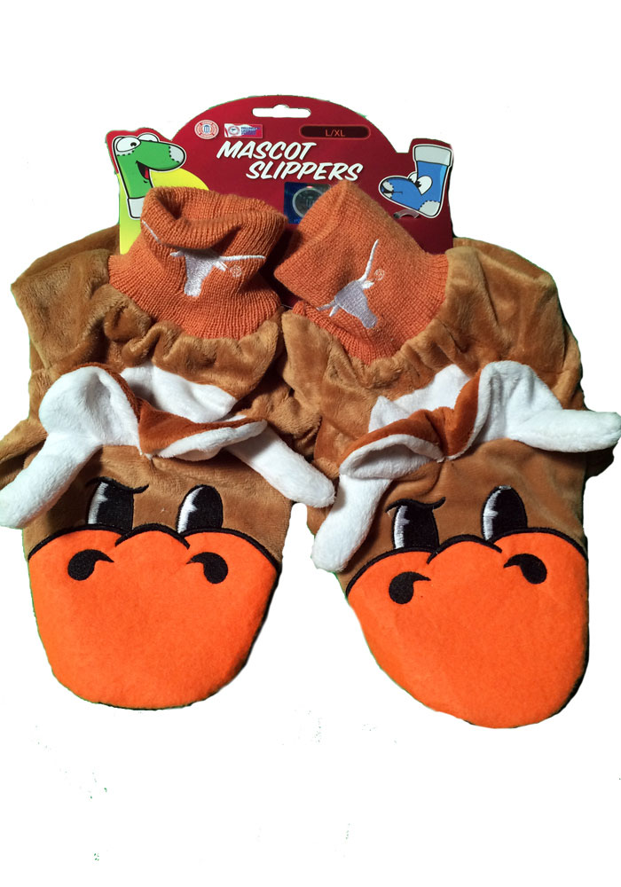Texas Longhorns Mascot Youth Slippers - Image 1