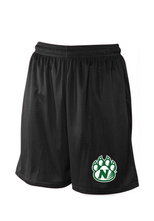 Northwest Missouri State Bearcats Kids Black Mesh Shorts