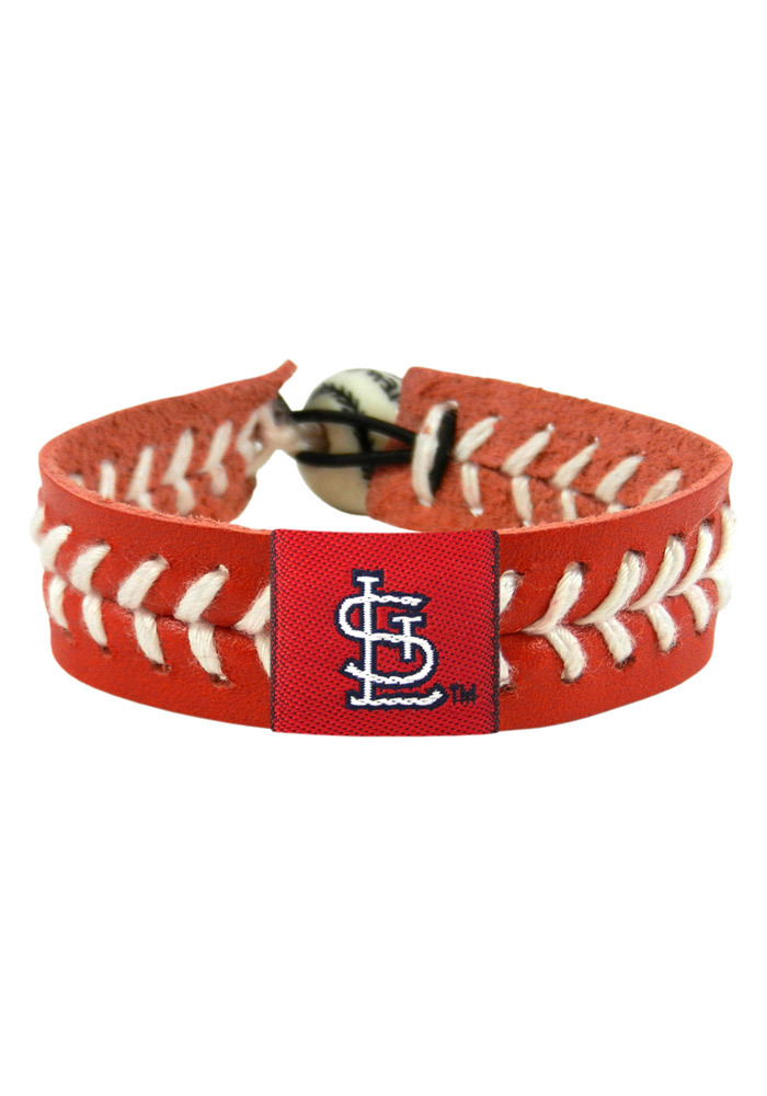 St Louis Cardinals Red Gamewear Mens Bracelet - Image 1
