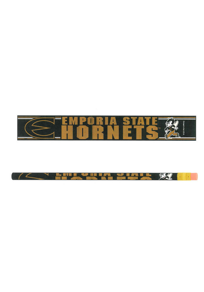 Emporia State Hornets 6 Pack Pencil - Image 1