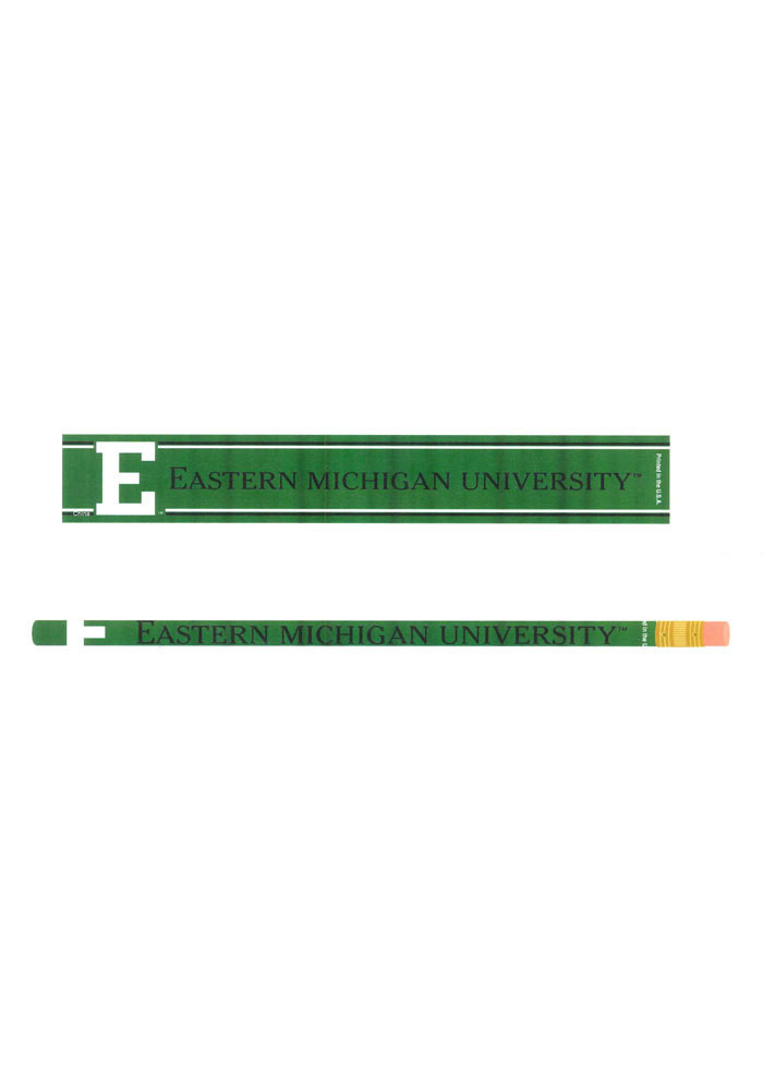 Eastern Michigan Eagles 6 Pack Pencil - Image 1