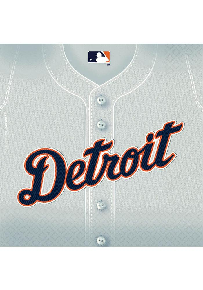 Detroit Tigers Luncheon 36 Pack Napkins - Image 1