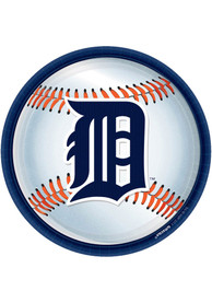 Detroit Tigers 9 Inch 18 Pack Paper Plates