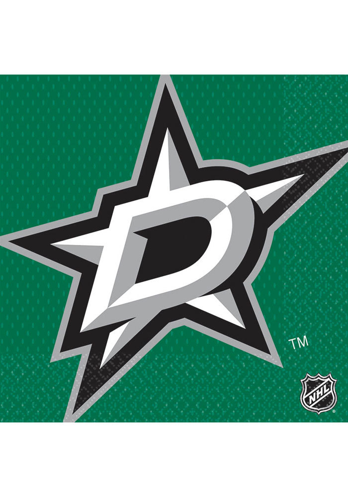 Dallas Stars Luncheon 16 Pack Napkins - Image 1