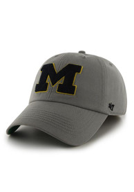 Michigan Wolverines 47 Grey 47 Franchise Fitted Hat