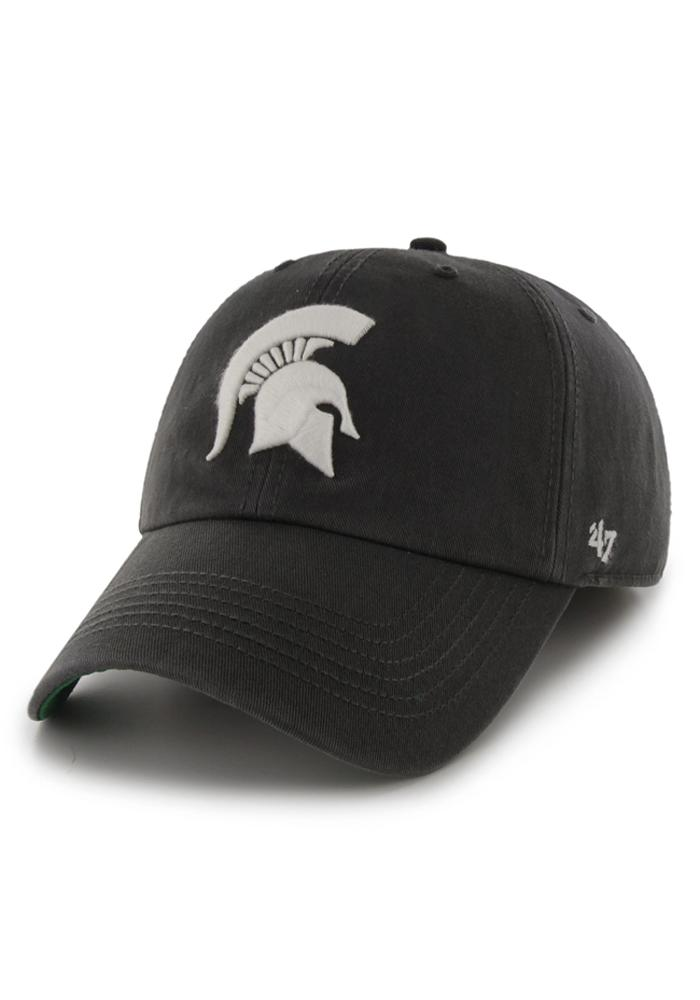 47 Michigan State Spartans Mens Grey 47 Franchise Fitted Hat 4801690