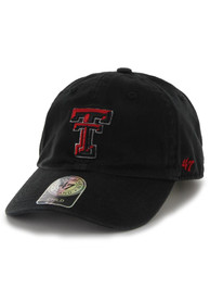 the latest 6d6be 5cc67  47 Texas Tech Red Raiders Clean Up Adjustable Hat - Black
