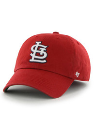 St Louis Cardinals 47 Red 47 Franchise Fitted Hat