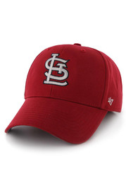 St Louis Cardinals Red Basic MVP Youth Adjustable Hat