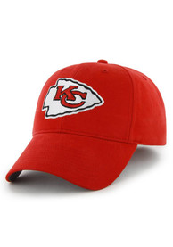 Kansas City Chiefs Red Basic MVP Youth Adjustable Hat