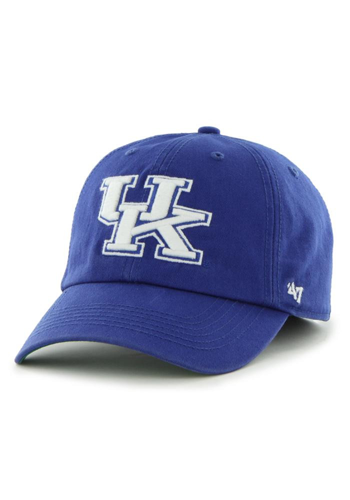 '47 Kentucky Wildcats Mens Blue 47 Franchise Fitted Hat - Image 1