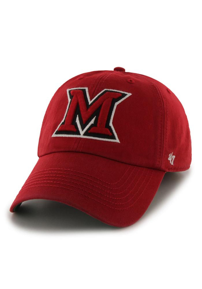 '47 Miami Redhawks Mens Red 47 Franchise Fitted Hat - Image 1