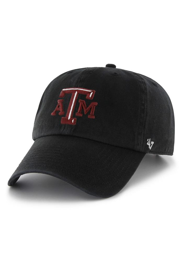 Texas A&M Aggies 47 Clean Up Adjustable Hat - Black