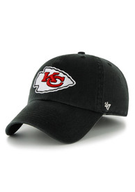 Kansas City Chiefs 47 Clean Up Adjustable Hat - Black