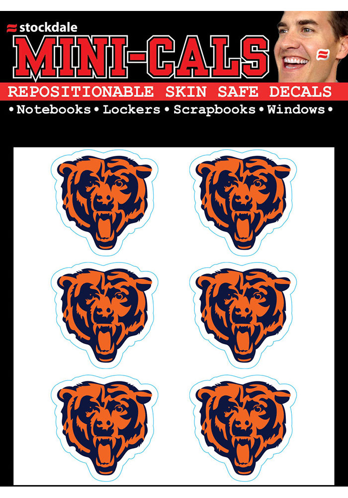 Chicago Bears 6 Pack Tattoo