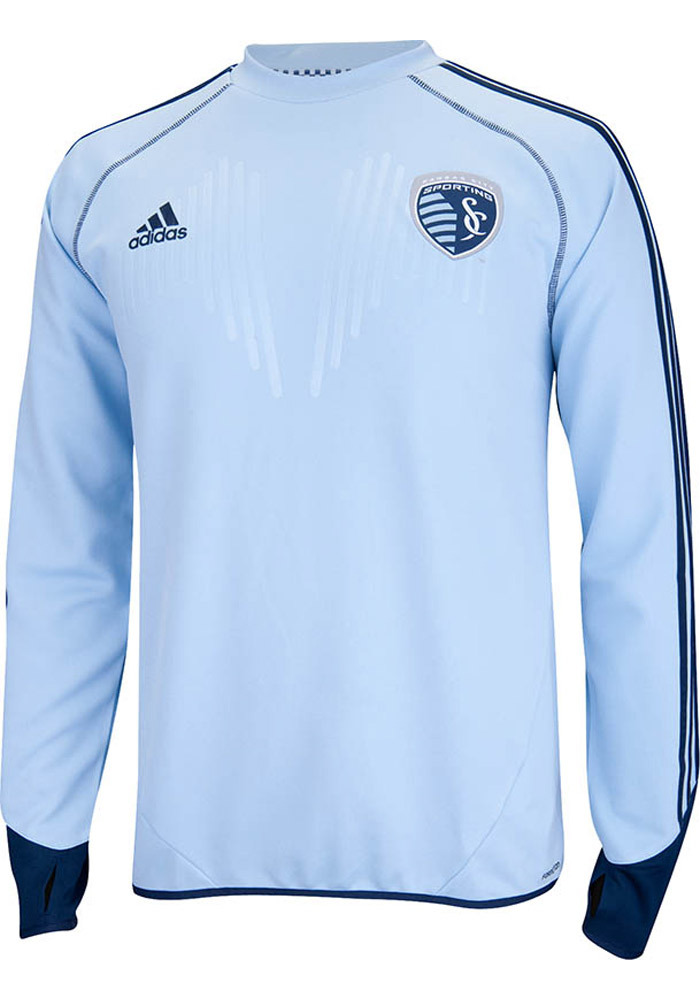 Adidas Sporting Kansas City Light Blue Training Tee