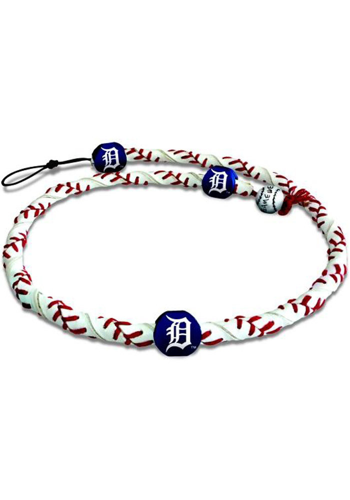 Detroit Tigers Gamewear Frozen Rope Mens Necklace - Image 1