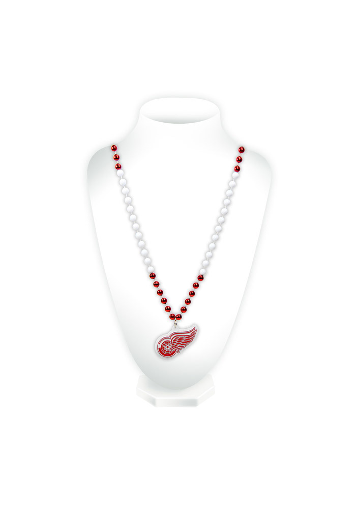 Detroit Red Wings Medallion Spirit Necklace - Image 1