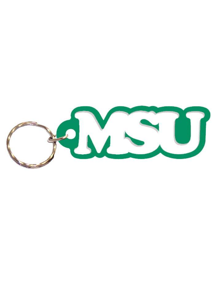 Michigan State Spartans Acrylic Keychain - Image 1