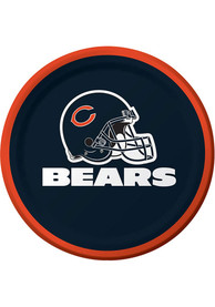 Chicago Bears 8 Pack 9 Inch Paper Plates