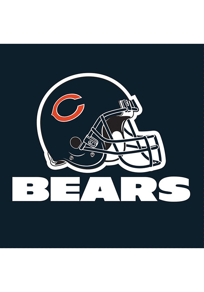 Chicago Bears 16 Pack Luncheon Napkins - Image 1