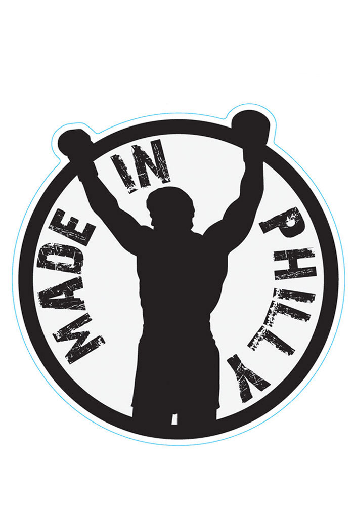 Made In Philly Rocky 3X5 Car Accessory Car Magnet - Image 1