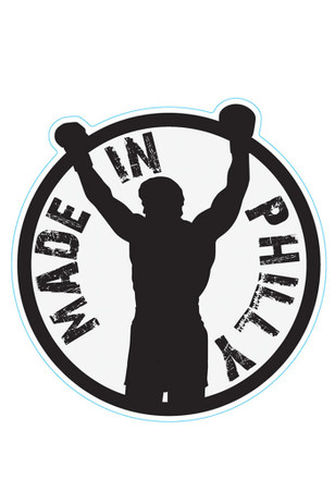 Made In Philly Rocky 3X5 Car Accessory Car Magnet
