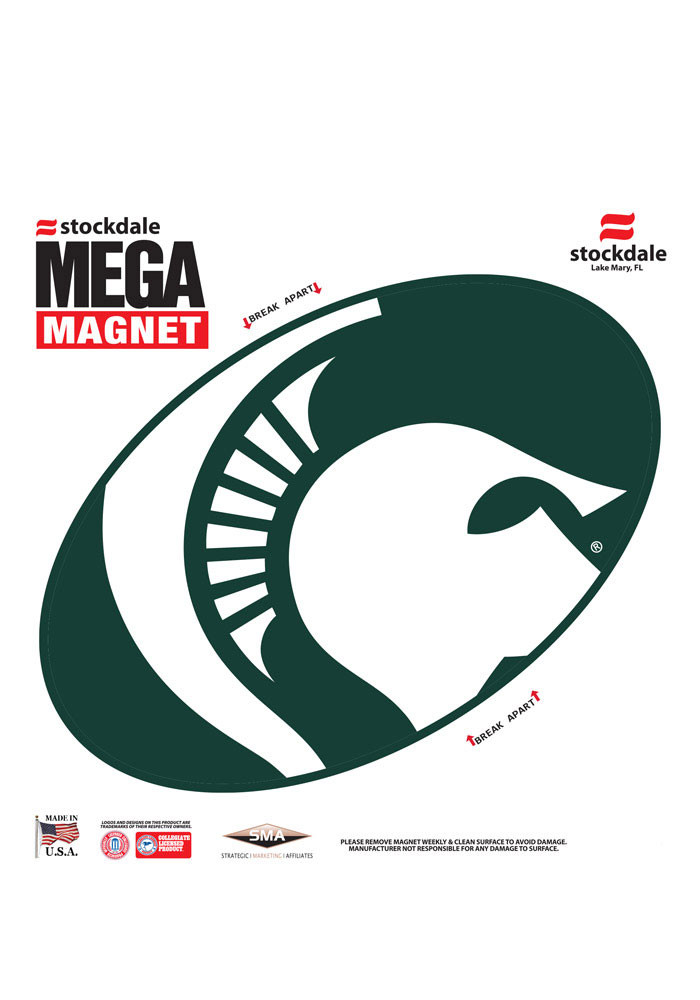 Michigan State Spartans Megaline Magnet - Image 1