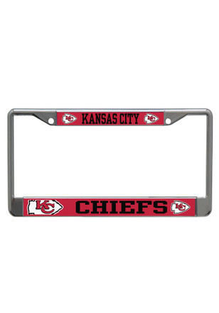 Kansas City Chiefs Mega Logo License Frame
