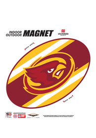 Iowa State Cyclones Team Color Magnet