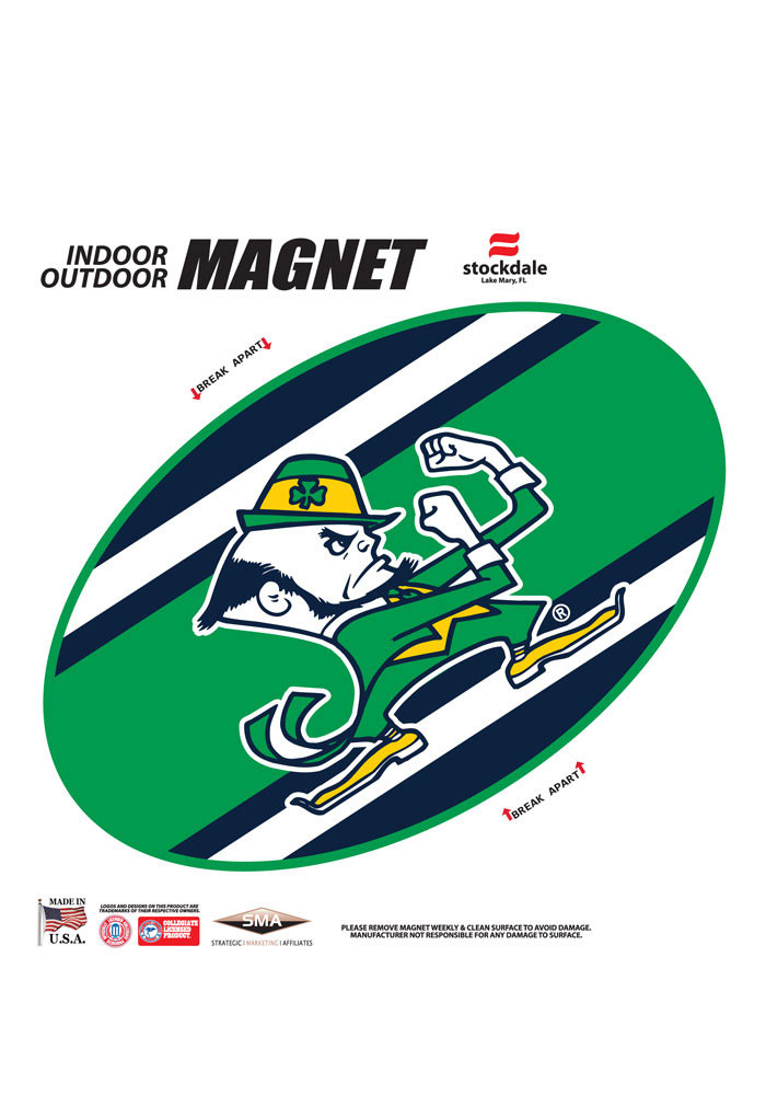 Notre Dame Fighting Irish Team Color Magnet - Image 1