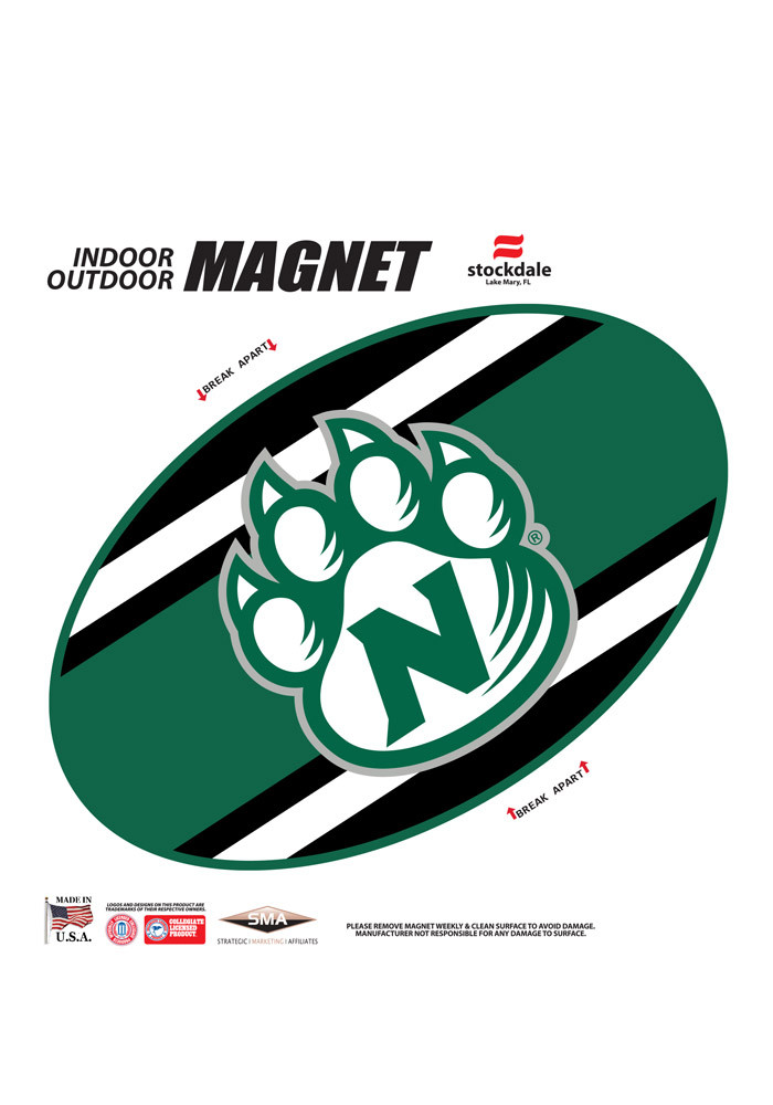 Northwest Missouri State Bearcats Team Color Magnet - Image 1