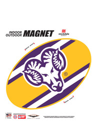 West Chester Golden Rams 6 Inch Team Color Magnet
