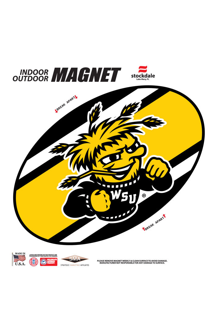Wichita State Shockers Team Color Magnet - Image 1